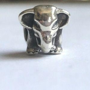 Pandora Retired Elephant 791130 Sterling